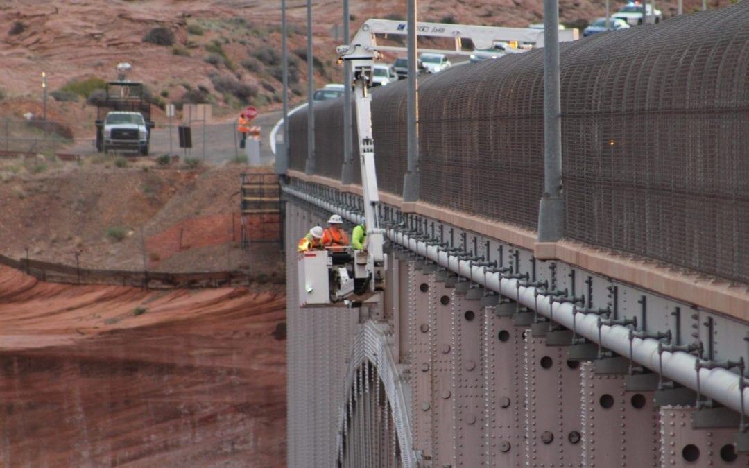 Glen Canyon Bridge Pipeline Repair