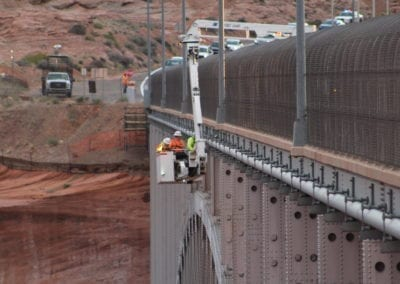 Glen Canyon Bridge Pipeline Repair